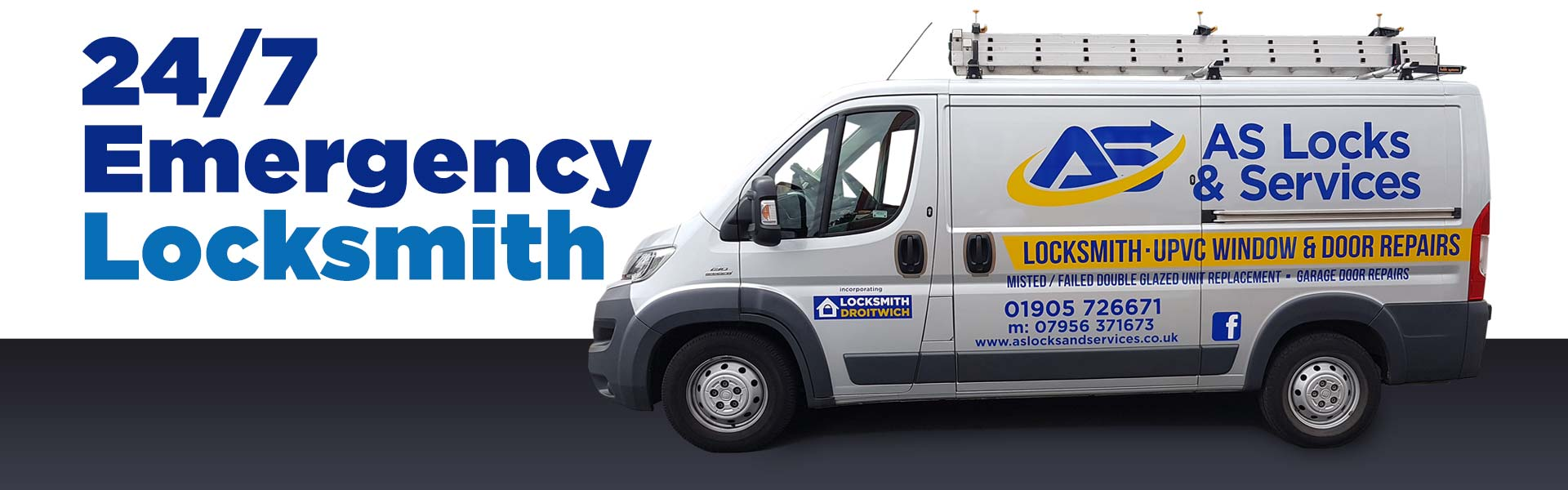 AS Locks and Services Worcester Van